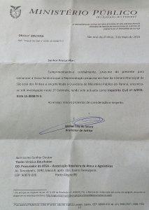 Inquérito Civil São José dos Pinhais